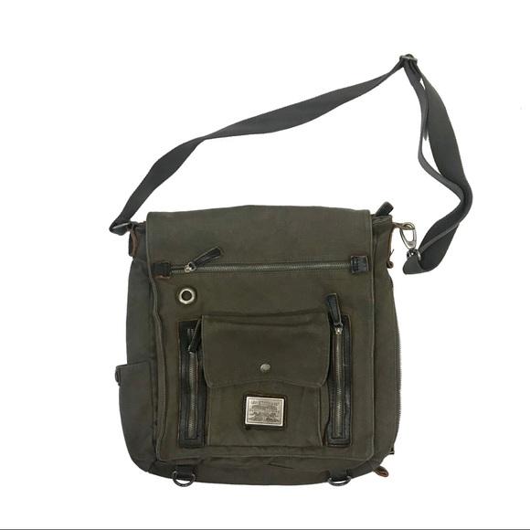 c2d5b43a8 Levi's Bags | Levis Crossbody Canvas Messenger Bag Unisex | Poshmark